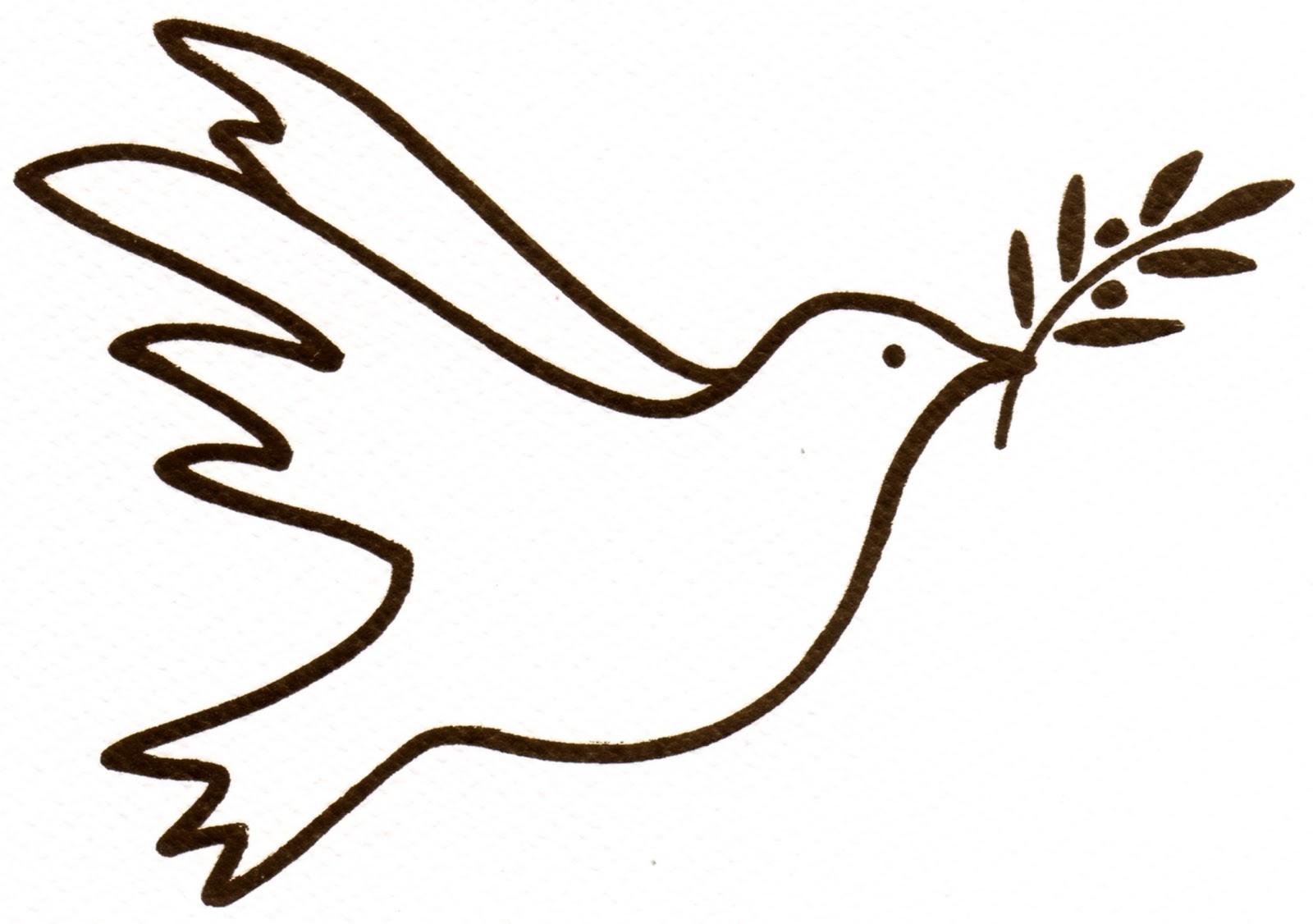 Pastorale ecole ste jeanne d 39 arc - Comment dessiner une colombe ...